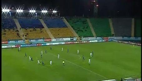 Карпаты - Черноморец - 1:0. Видео гола Федорчука