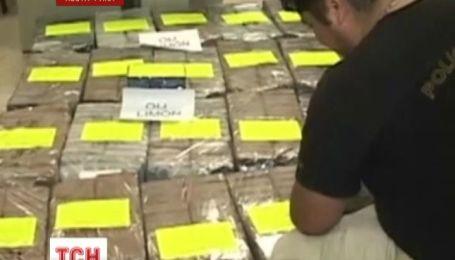 Береговая охрана Коста Рики конфисковала более тонны кокаина