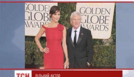 Голливудский актер Ричард Гир расстается с женой после 11 лет брака