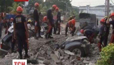 На Филиппинах произошло одно из сильнейших землетрясений