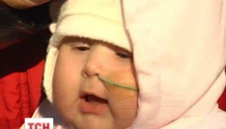 Завдяки небайдужим врятували життя чотиримісячної Маргарити Дяченко