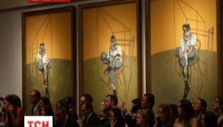 Триптих британського художника Френсіса Бекона продали на аукціоні Крістіз за рекордні 142 мільйони доларів