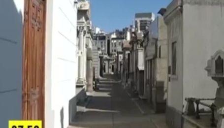 Буэнос- Айрес - латиноамериканская Европа и район мертвых