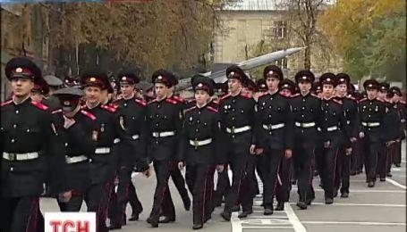 Кадеты военного лицея имени Богуна приняли торжественную присягу