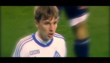 Динамівець Сидорчук став автором найкращого гола 17-го туру чемпіонату України