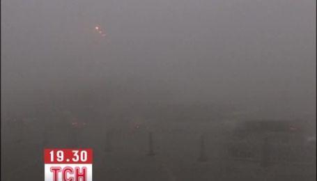 Из-за смога и тумана в Китае закрыли дороги, аэропорты и школы