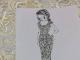 Ескіз сукні Вітвіцької