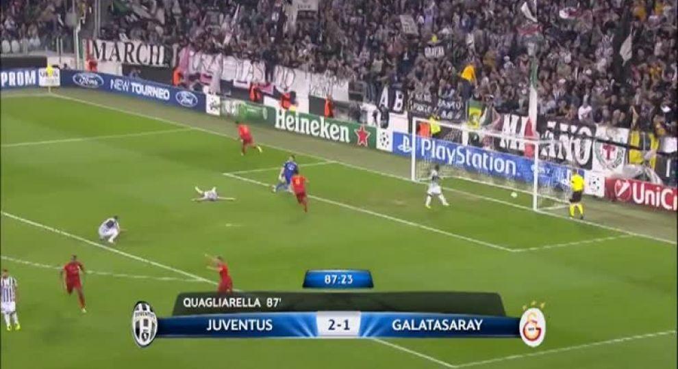 Футбол галатасарай ювентус видео