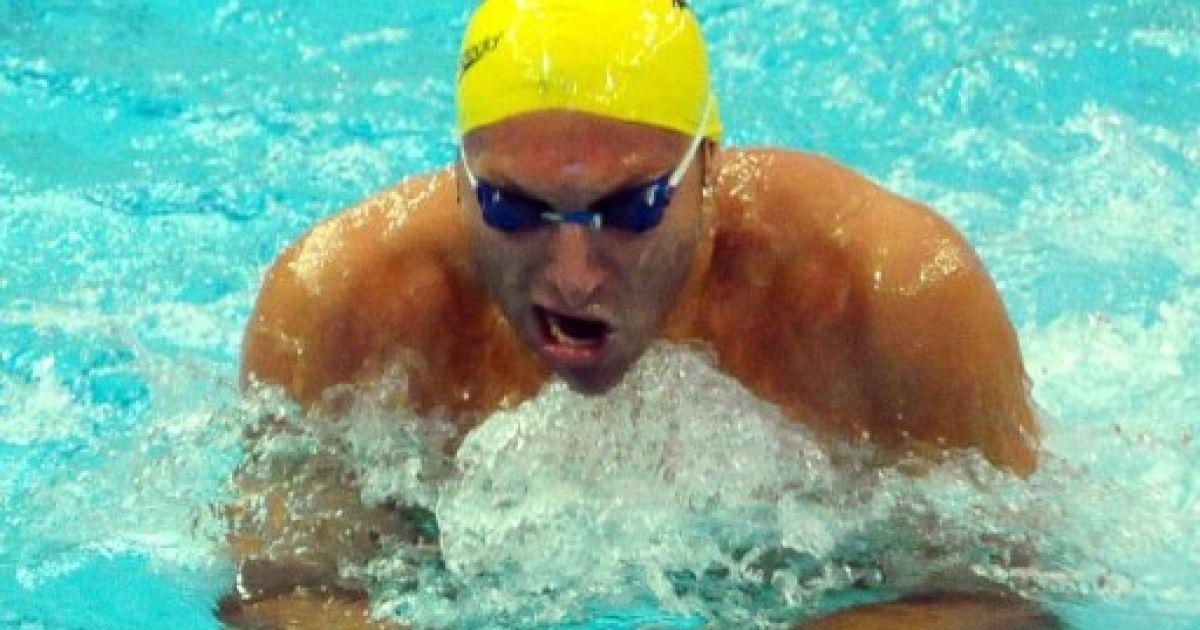 Китай, Пекін. Австралійський спортсмен Ян Торп виступає на Кубку світу з плавання в Пекіні. П'ятиразовий олімпійський чемпіон, який пішов зі спорту у 2006 році, вирішив повернутися. @ AFP