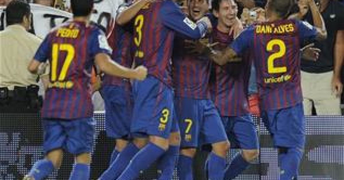 Барселона реал 18 августа красны месут озил