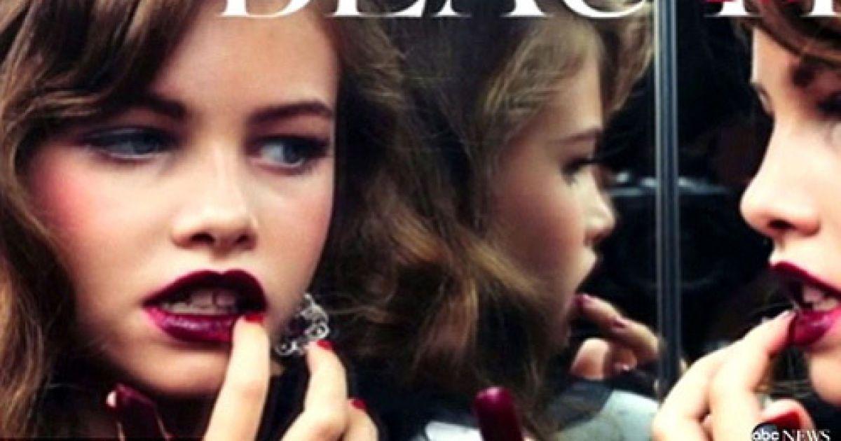 10-летняя модель Тилан Блондо @ Vogue