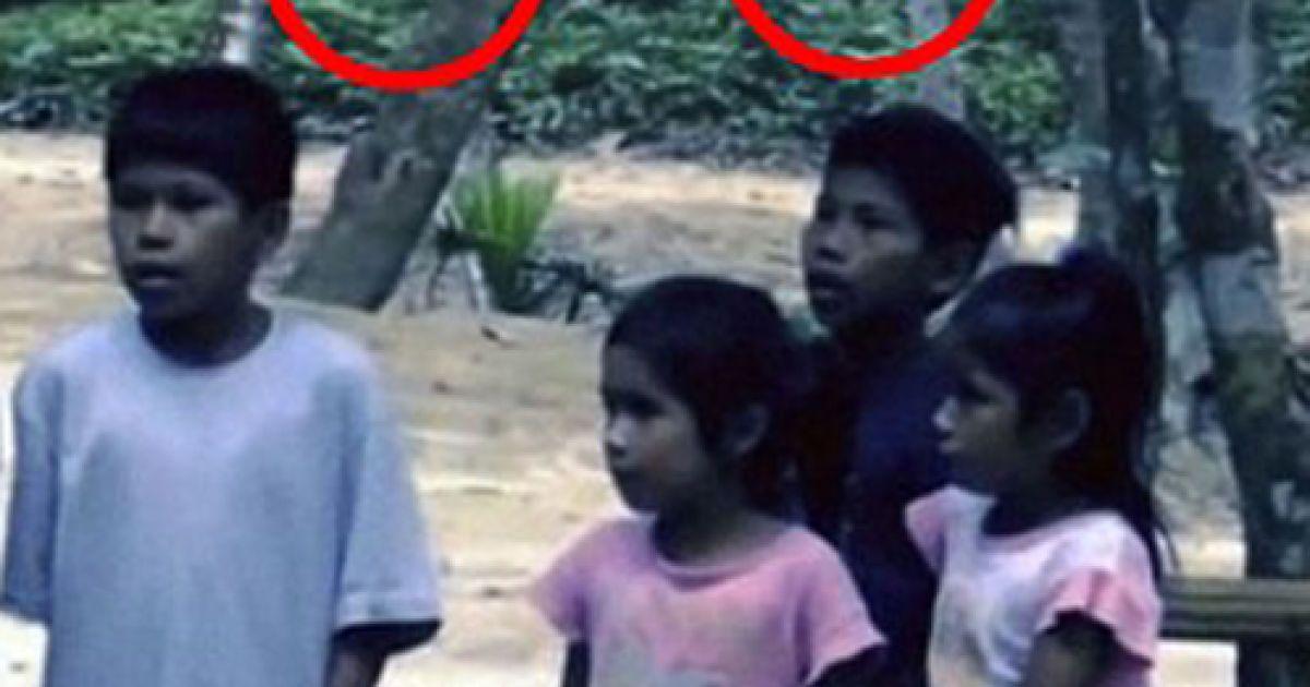 У Бразилії в об'єктив відеокамери потрапив інопланетянин @ The Daily Mail