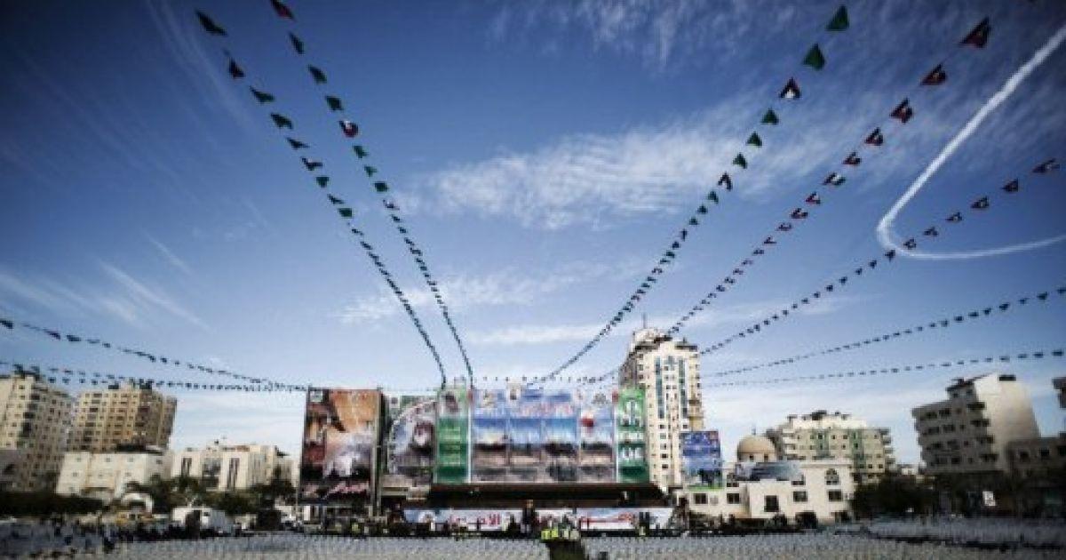 Сектор Газа святкує визволення сотень палестинців з ізраїльських тюрем @ AFP