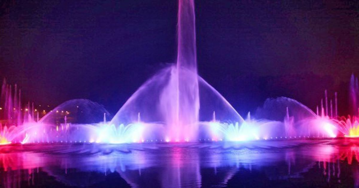В Виннице откроют крупнейший в Европе светомузыкальный фонтан ...