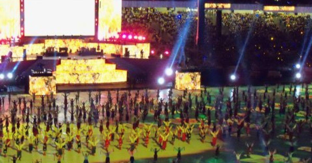 """Відкриття НСК """"Олімпійський"""" @ НБН"""