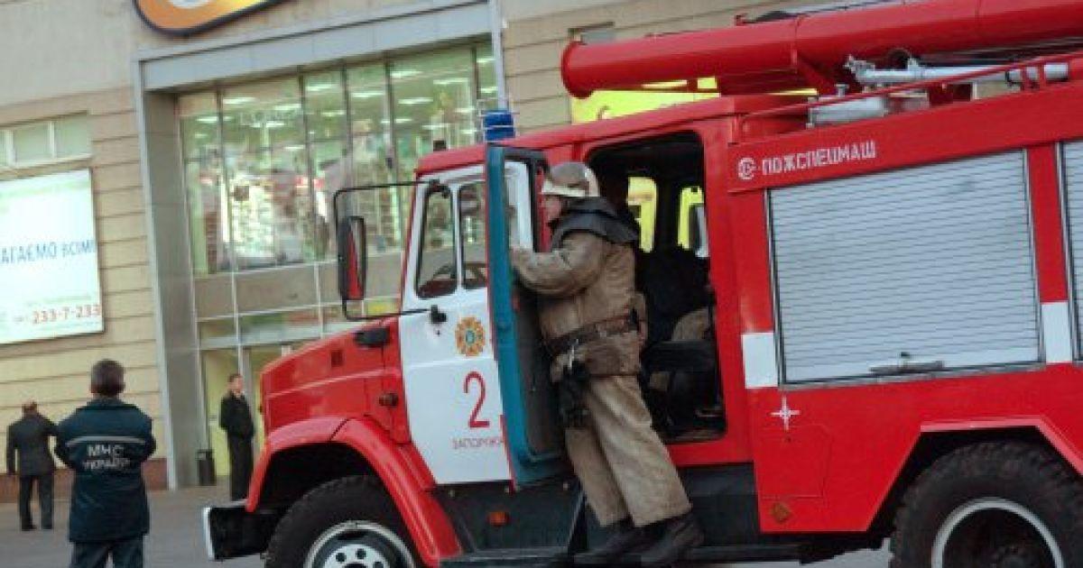 У Запоріжжі вибухівку заклали у супермаркеті @ УНІАН