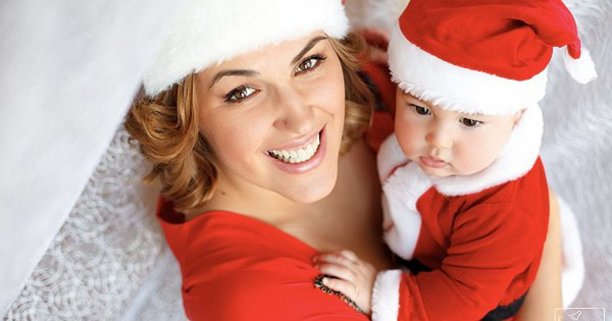 Яна Клочкова з сином Сашком @ facebook.com/klochkova1