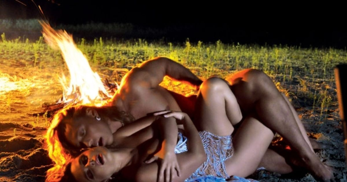Зйомки еротичної сцени біля вогнища стали справжньою кульмінацією @ 7 дней
