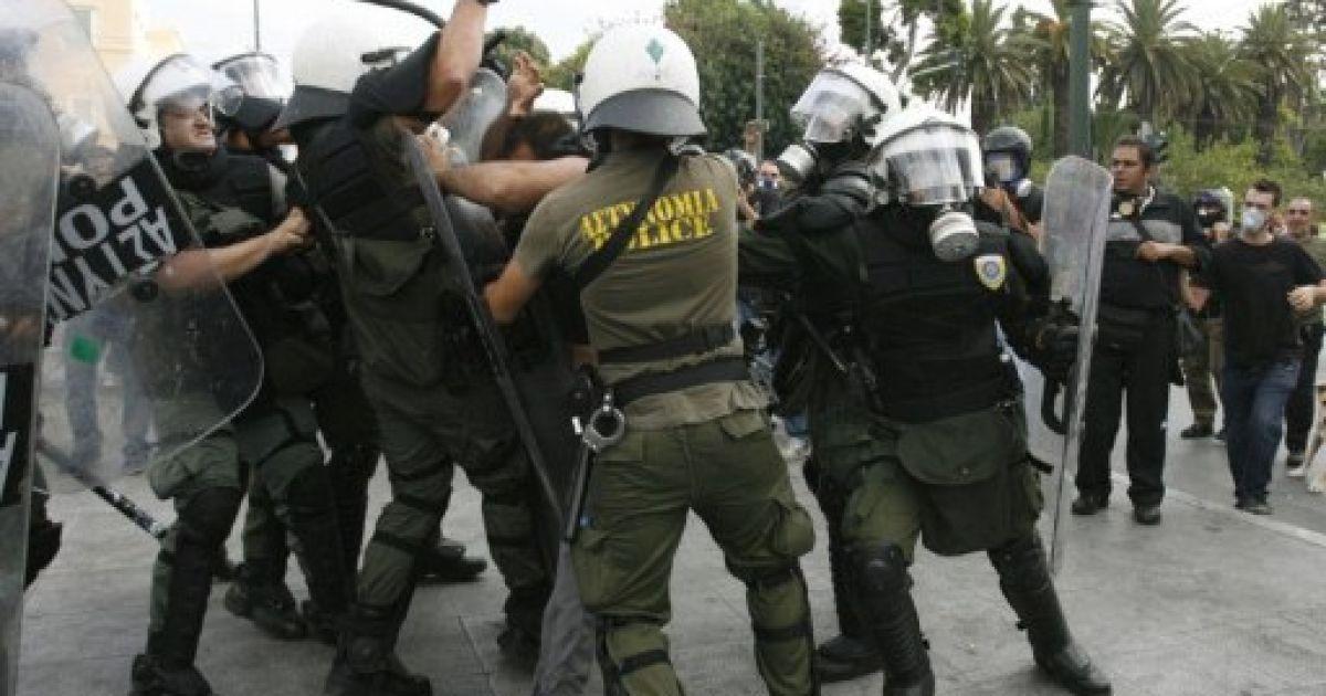 Акції протесту у Греції @ AFP