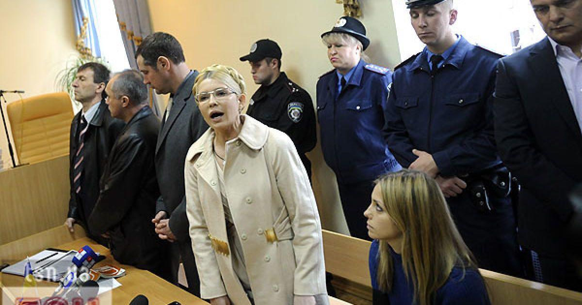 Тимошенко отправили подальше от Киева @ Евгений Малолетка/ТСН.ua