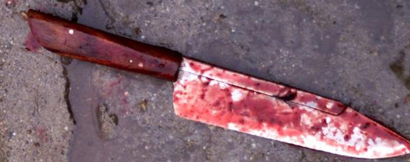 В Киеве полиция поймала преступника, устроившего поножовщину