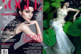 """Дівчина з татуюванням дракона"" стала героїнею Vogue"