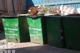 Засніжений Київ ризикує потонути в смітті