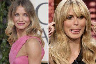 Хайди Клум и Камерон Диаз стали самыми опасными знаменитостями в Интернете