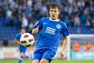 Коноплянка - найкращий футболіст України у 2012 році