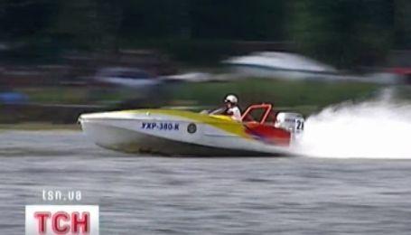 Чемпионат по водно-моторному спорту на Днепре