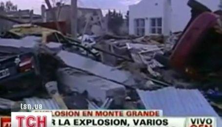 Загадочное падение с неба на окраине Буэнос-Айреса
