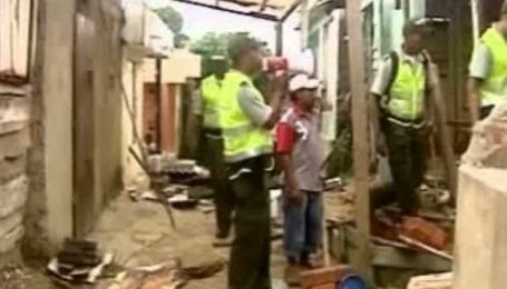 Колумбийский город проваливается под землю