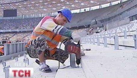 """""""Олімпійський"""" добудують через місяць"""