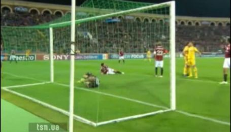 БАТЭ - Милан - 1:1. Обзор матча