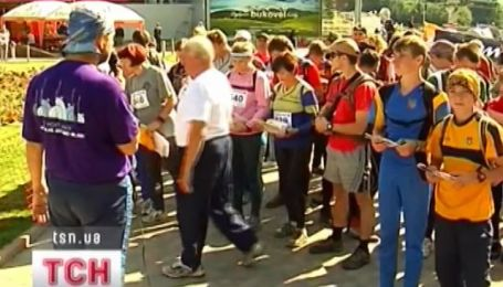 Международные соревнования по рогейну прошли в Карпатах