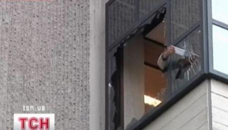 Мощный взрыв в центре Амстердама