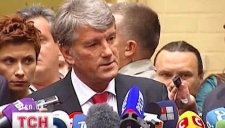 Ющенко и Тимошенко - встретились в суде