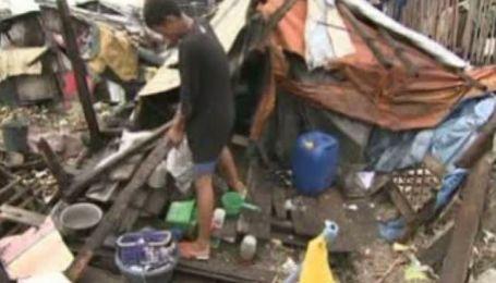 Тайфун Несат убил на Филиппинах 35 человек