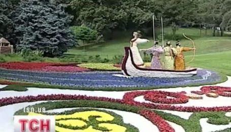 Полмиллиона цветов для киевлян