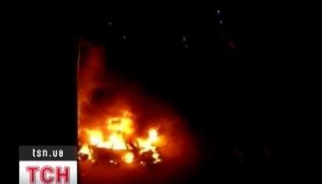 Столичные автомобили горят!