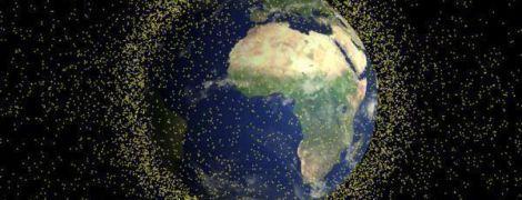 На орбиту запустили спутник для уборки мусора