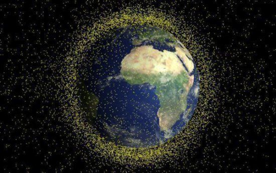 На орбіту запустили супутник для прибирання сміття