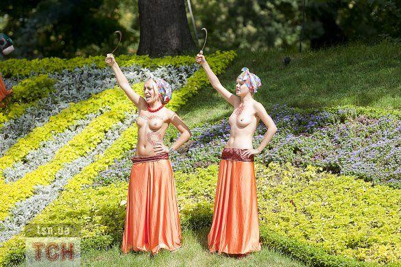 """Акція FEMEN """"День залежності""""_6"""