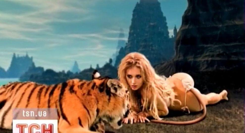 Сексуальный тигр