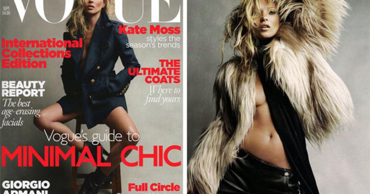 Кейт Мосс на обкладинці Vogue @ Etoday