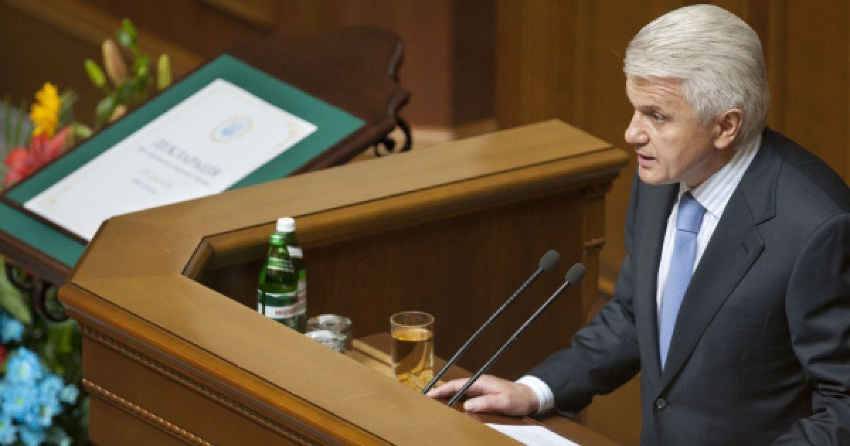 Речь спикера ВР Владимира Литвина. @ Украинское фото