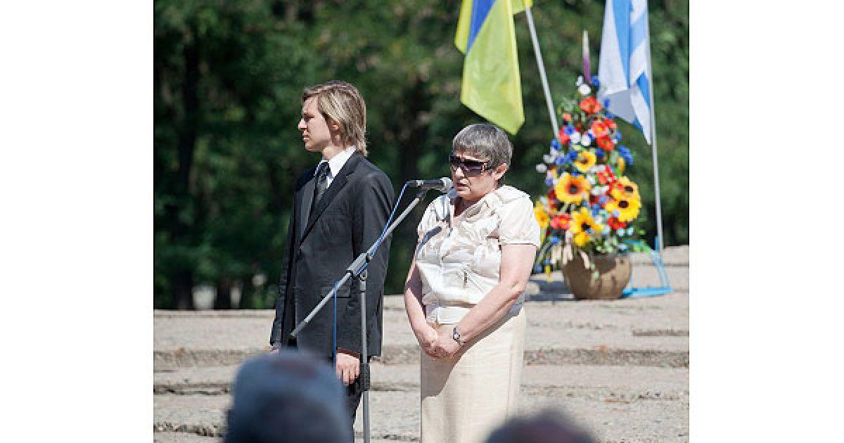 Зі слів організатора маршу Джобста Біттнера, в 40 з 200 німців, котрі взяли участь у марші, предки служили у вермахті або групах СС. @ Украинское Фото