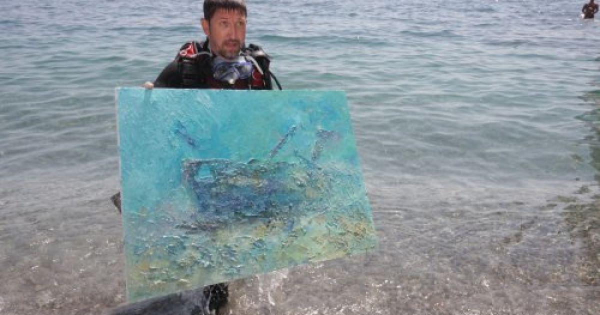 Підводна картина дайвера Олександра Білозора @ УНІАН