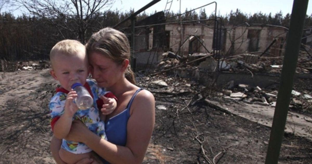 Наслідки пожежі в Росії @ AFP