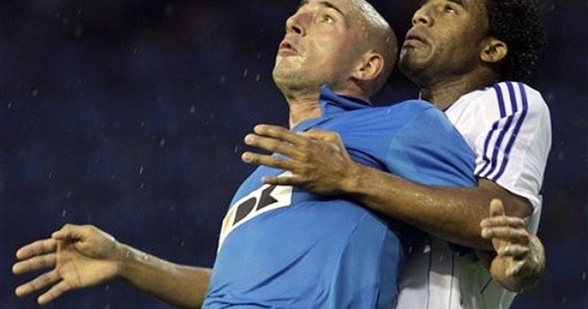 """У Бельгії київське """"Динамо"""" перемогло бельгійський """"Гент"""" з рахунком 3:1 і вийшло у плей-офф Ліги чемпіонів. @ daylife.com"""